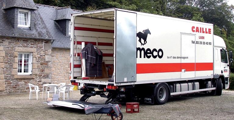 Agence de déménagement et transport à Laon, Aisne