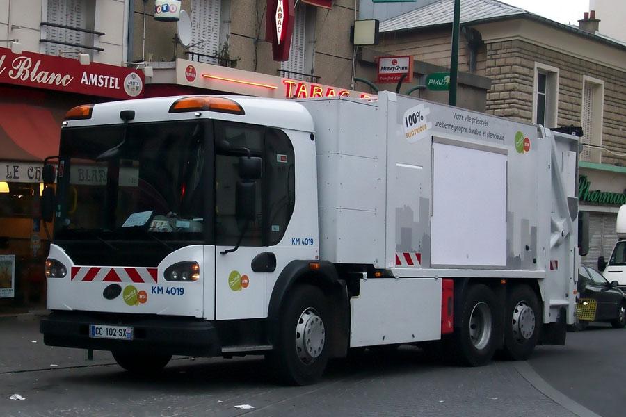 camion poubelle electrique