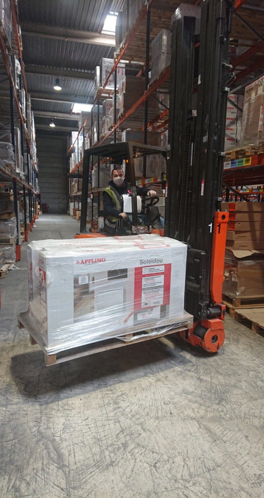Caille logistique transport covid