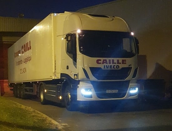 caille transport approvisionne carrefour